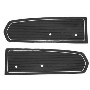 Panneau de porte noire 68 standard