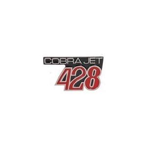 Embleme d'aile avant 428 Cobra jet