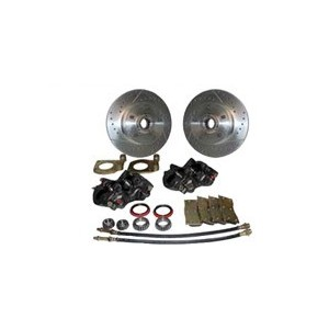 Front disc brake basic conversion kit