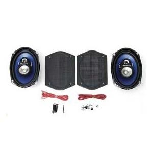 Custom autosound Haut-parleurs arrière