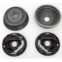 Performance rear brake drum upgrade kit