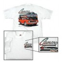 T-Shirt Camaro by Chevrolet white Medium