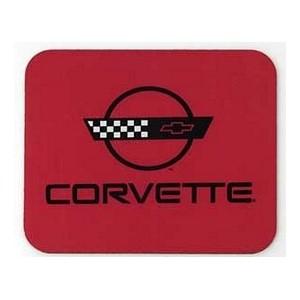 Tapis de Souris Corvette C4 logo