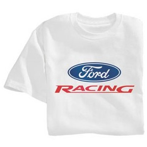 "T-Shirt Ford Racing blanc ""L"""