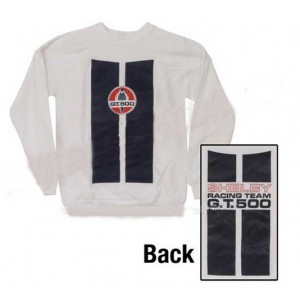 Sweatshirt Blanc Shelby Racing Team