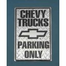 Parking Only Chevy truck
